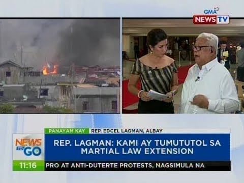 NTG: Panayam kay Rep. Edcel Lagman, Albay