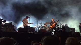 Kings of Leon - Over (new song) - live in Berlin Lollapalooza 2016