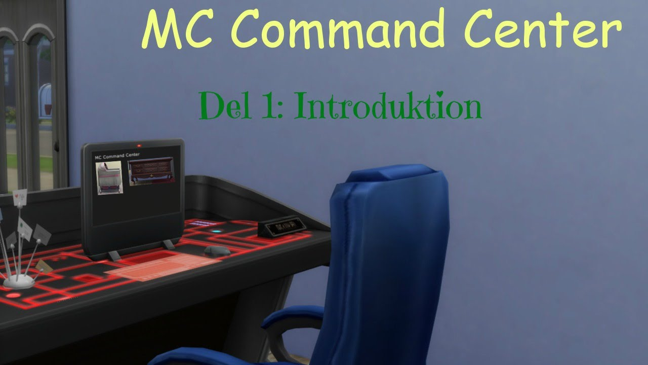 Introduktion till MC Command Center - The Sims 4 - The Sims