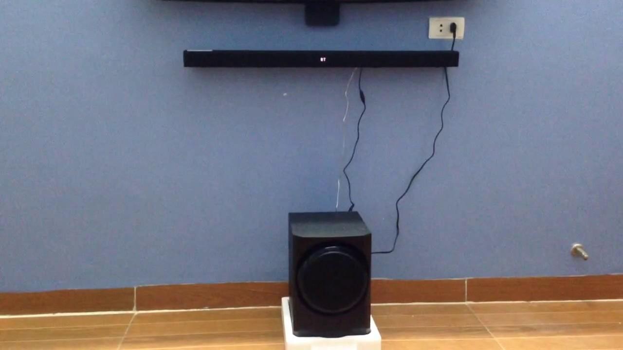 Test Samsung Soundbar HW-k350