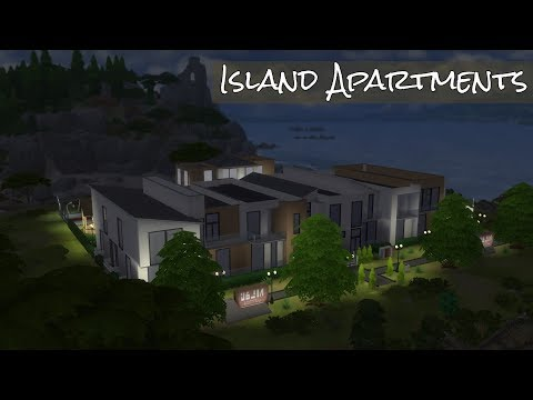 The sims 4 - Island Apartments | Speed build | by AndySister