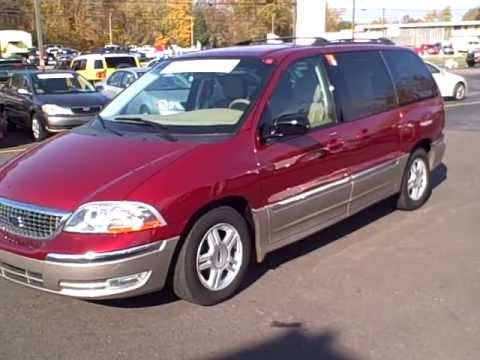 2002 ford windstar sel red 05609 youtube 2002 ford windstar sel red 05609 youtube