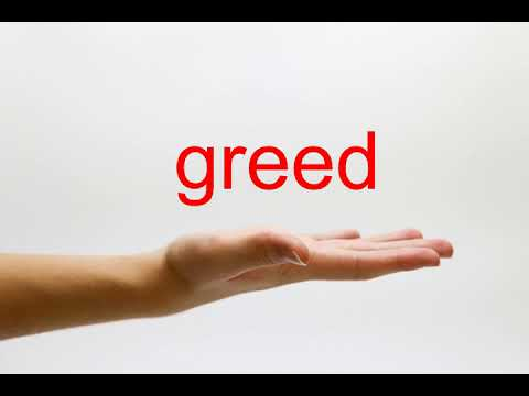 How to Pronounce greed - American English
