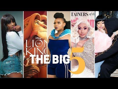 The Big 5: Tiwa Savage na Yemi Alade wazinguana, boyfriend wa Nicki Minaj aliua, B2K warudi