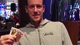 I won a poker tournament in Las Vegas!