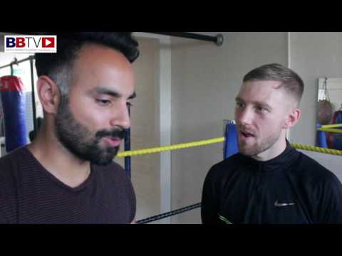 ROSS COOKSEY; KO ON DEBUT, BARMY FANS, JIMMY EGAN'S AND NEXT FIGHT