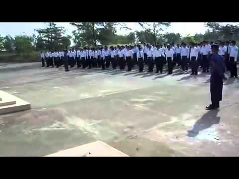 Myanmar Marine University Training For  Students