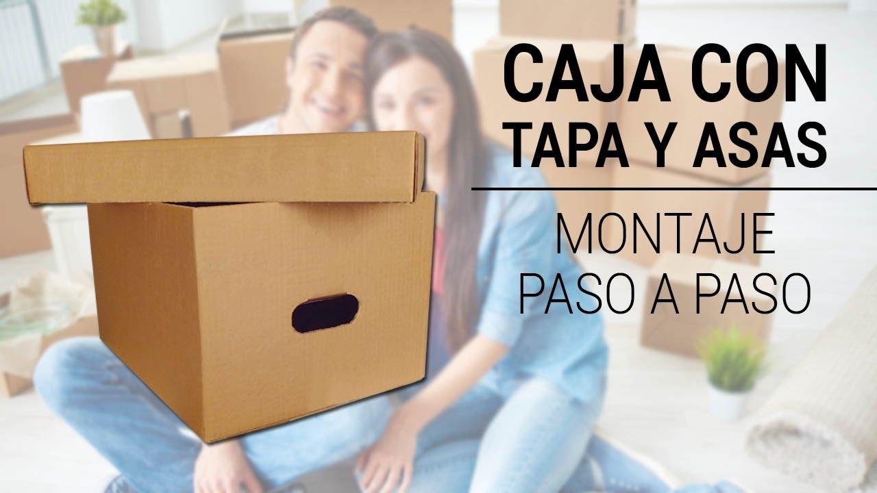 Caja de cart n para almacenaje y transporte 460x340x260mm for Cajas carton almacenaje