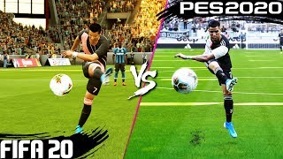 FIFA 20 vs. PES 2020: Shooting (Long Shots, Finesse Shots, Volleys, Lobs & More) 4K