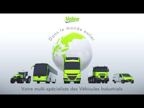 Valeo, votre spécialiste pièces détachées pour camions, cars, bus, VUL