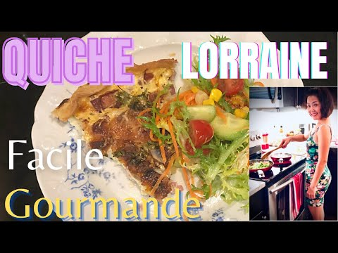 recette-quiche-lorraine---quiche-jambon-fromage-facile-rapide---how-to-make-french-quiche?