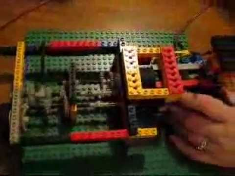 how to build a lego gearbox
