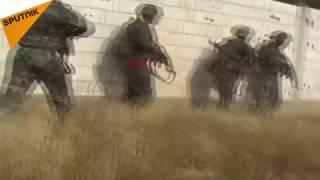 شاهد...كيف يتعامل الجيش السوري مع مسلحي درعا