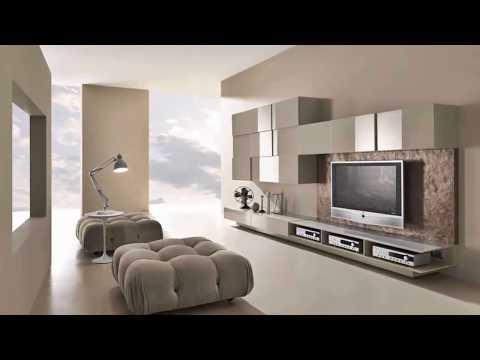 Modern TV Wall Units - Modern Living room → Wall Units 2019 ➤ Living room furniture & Decor