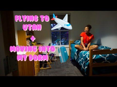 Ballet West SI Vlog #1: Flying To Utah + Moving Into My Dorm   Life As Gabi♡♡♡
