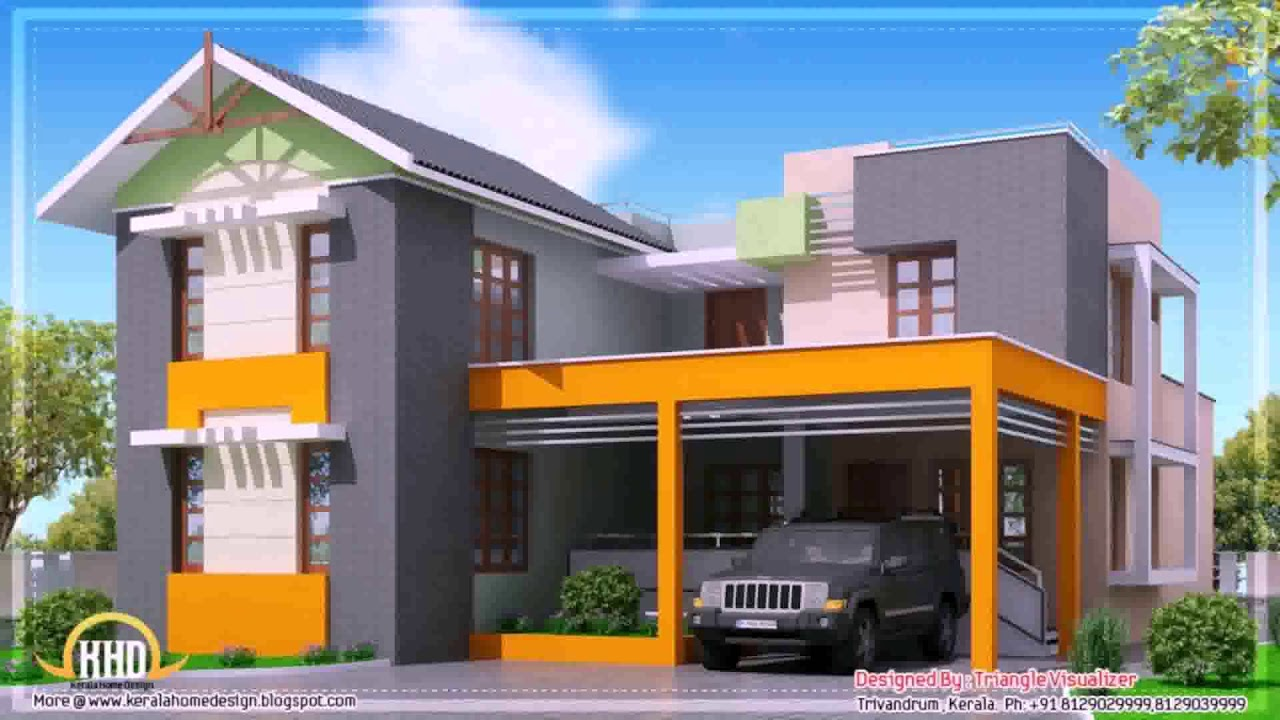 Contemporary House Plans Under 2000 Sq Ft - YouTube