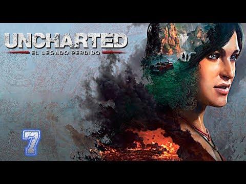 Uncharted: El Legado Perdido -  Capítulo 7: El Colmillo De Ganesh (Let´s Play En Español)
