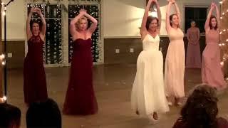 BRIDE & BRIDESMAID's DANCE!!! Amazing