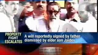 Bala Saheb Thackeray leaves entire wealth to Uddhav, nothing for Jaidev Thackeray
