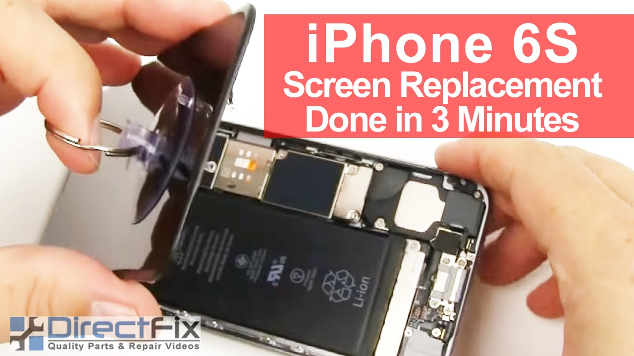 how to replace screen on iphone 5 how to iphone 6s screen replacement done in 3 minutes 20232
