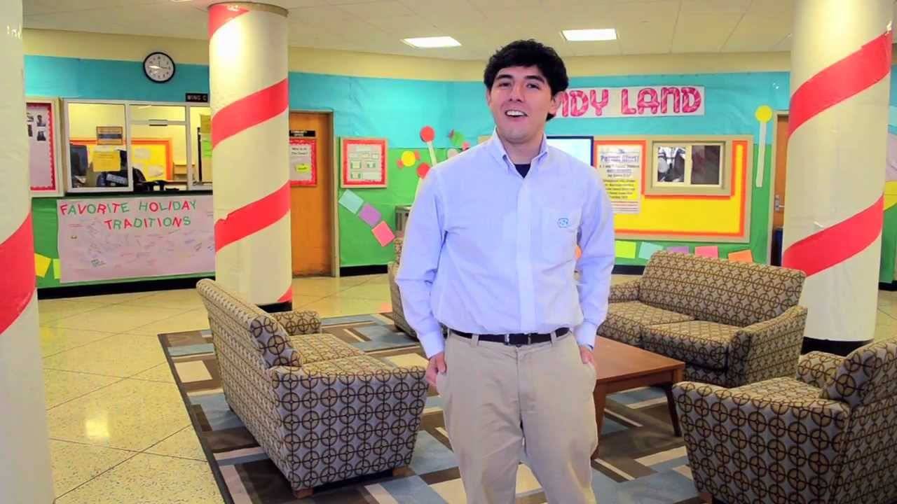 Charming UNC Chapel Hill: Model Residence Hall Room   YouTube Part 6