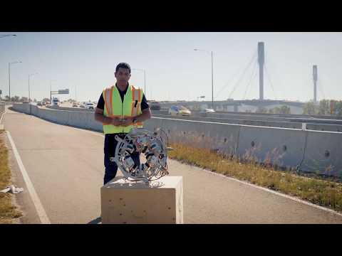 Port Mann Bridge Cable Inspection Robot