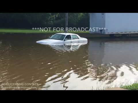 08-22-2017 Kansas City, MO Blue River Flooding