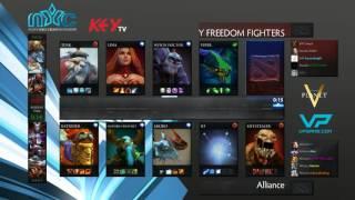Alliance vs Monkey Freedom Fighters - Game 1 (Nanyang Championships 2015 - EU Playoffs)