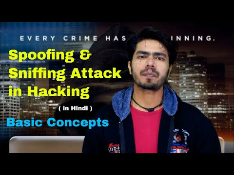 What is Spoofing and Sniffing in Ethical Hacking, Spoofing and Sniffing Concepts in Hindi