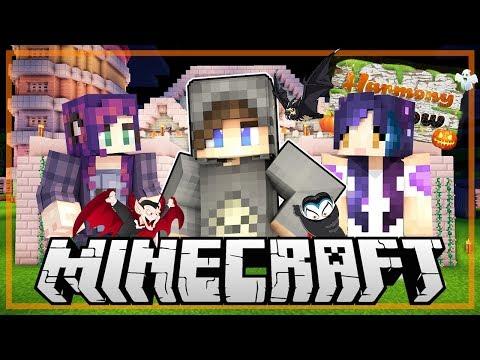 Hunter Training School! - Minecraft: Harmony Hollow SMP - S3 Ep.11 w/Laurenzside & BBPaws