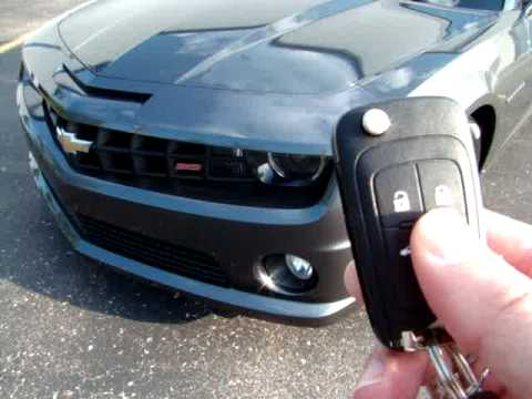 How The Remote Start Works On A Camaro