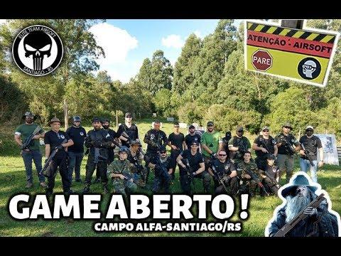 AIRSOFTRS - Game no Campo Alfa do Elite Team - Santiago/RS