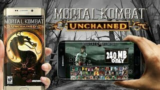 [240] MB Mortal Kombat Unchained|| PPSSPP || Highly Compressed || by Gaming World Videos ||