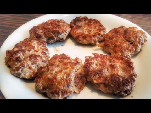 Low Carb-High Fat Burger Patties