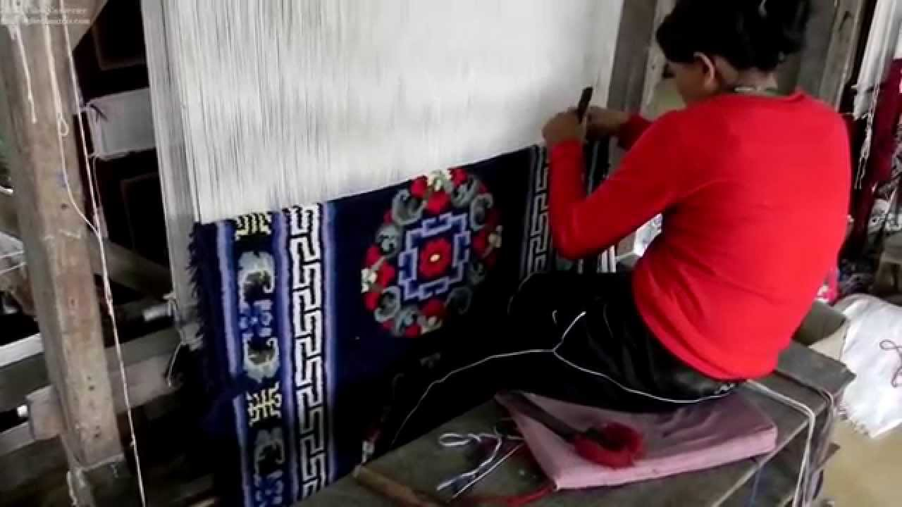 Tibetan Carpets as found in Sikkim