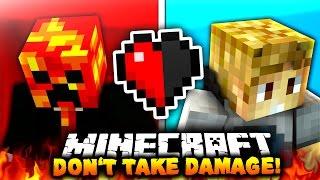 DON'T TAKE DAMAGE?! | Minecraft RED VS BLUE CHALLENGE!
