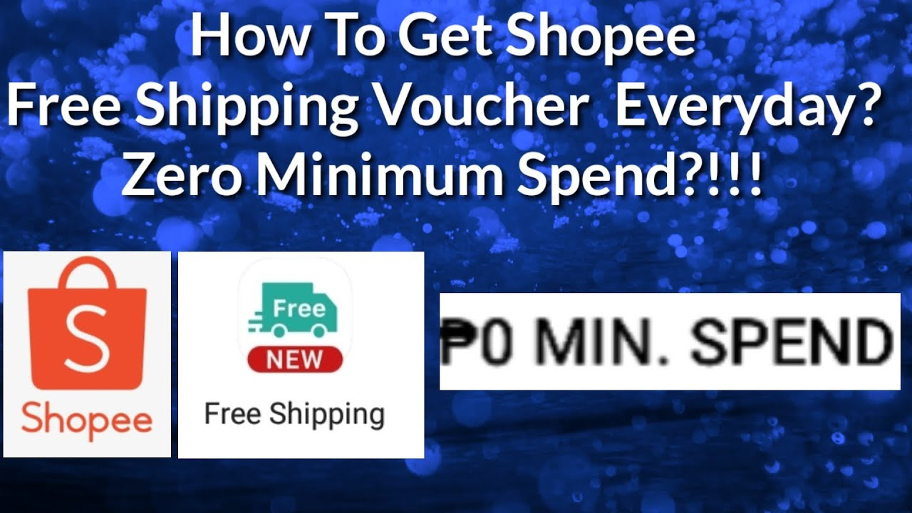 How To Get Free Shipping On Shopee Everyday | Shopee Free ...
