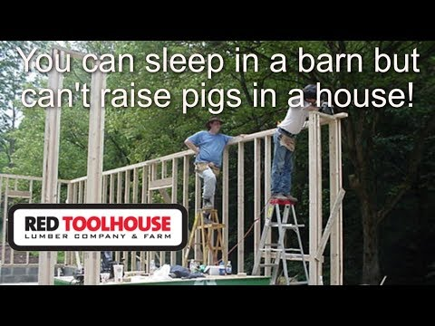 Ep93: Why you should build your barn/shop before building your house