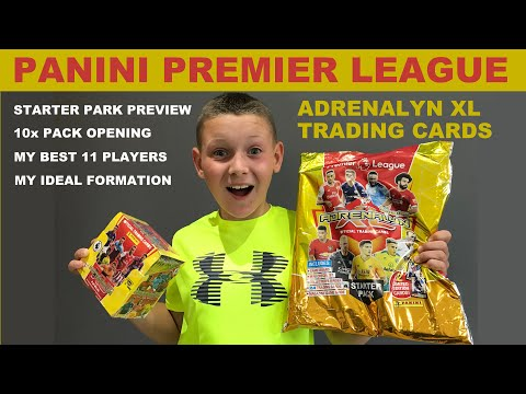 NEW Panini Premier League Football Trading Cards Starter Pack Preview & Adrenalin XL Pack Opening |
