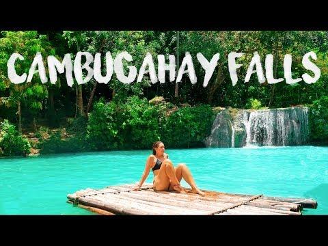PHILIPPINES travel series - we LOVE Siquijor | backflip fails at CAMBUGAHAY Falls