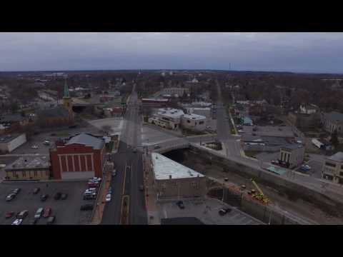 Aerial Video of Lockport NY 12/4/2016