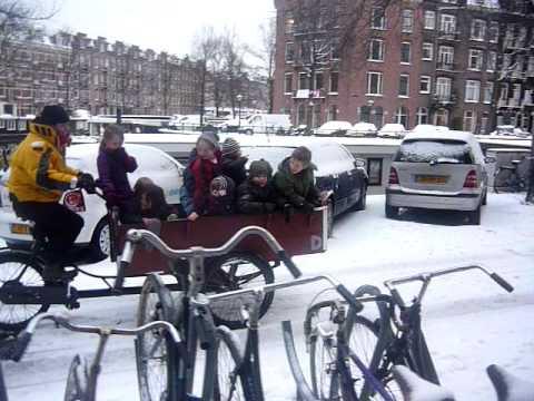 The Dutch Children's bus bicycle part 2