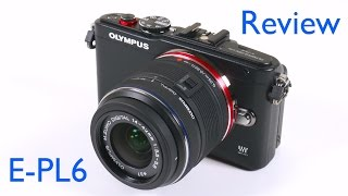 Олімпус Пен е-П6 огляд цифрова камера та відео тест