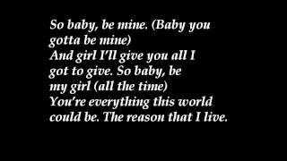 Michael Jackson - Baby Be Mine Lyrics [HD]