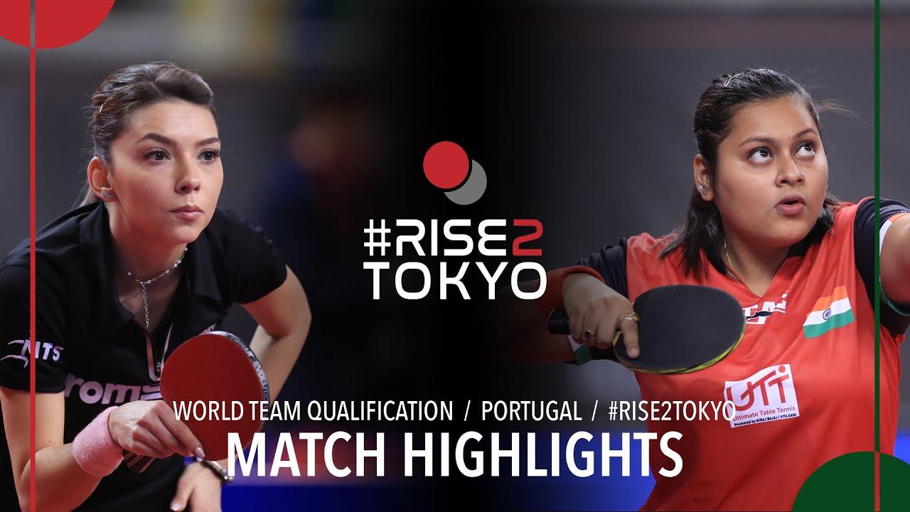 Download Bernadette Szocs vs Mukherjee Sutirtha | 2020 World Team Qualification (R16)