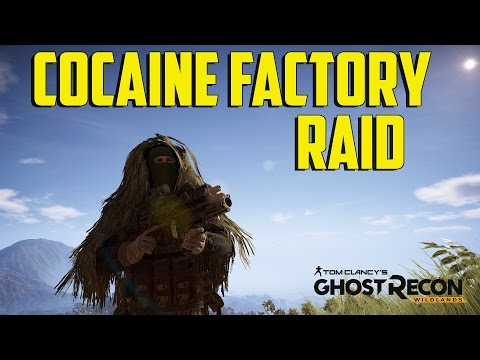 Tom Clancy's Ghost Recon Wildlands - Cocaine Factory Raid