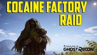 Tom Clancy's Ghost Recon Wildlands - Cocaine Factory Raid