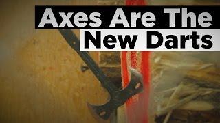 Axes Are the New Darts - How To Throw An Axe!