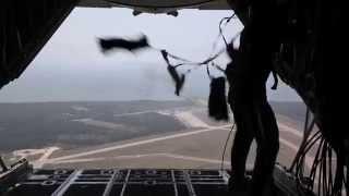 982nd Combat Camera Company Airborne Jump