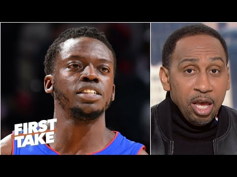 reggie-jackson-buyout-from-pistons-to-clippers-got-stephen-a-smith,-hot-&-bothered-like-grits!-🤯🤣